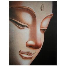 Buddha Graphic Art on Wrapped Canvas