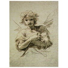 Angel Painting Print on Wrapped Canvas