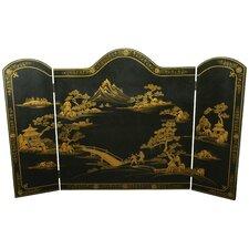 3 Panel Fireplace Screen
