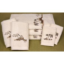 Chinoiserie 7 Piece Towel Set