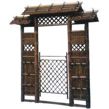 Japanese Style Zen Garden Gate