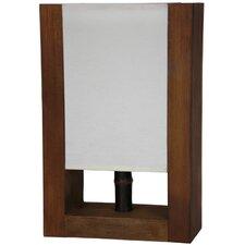"Zen 15.75"" H Table Lamp with Rectangular Shade"