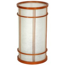 "Shibuya Japanese Shoji 14.25"" H Table Lamp with Drum Shade"