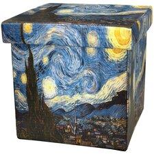 Van Gogh Starry Night Storage Ottoman