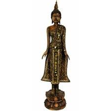 Standing Thai Buddha Figurine