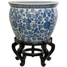 Porcelain Floral Vase