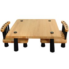Tatami Chabudai 3 Piece Dining Set