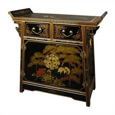 Asian 2 Drawer Altar Cabinet