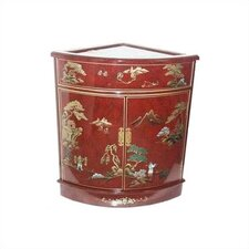 Asian Imperial Heavens Corner Cabinet