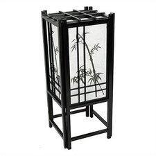 "Bamboo Tree Shoji 18"" H Table Lamp with Rectangular Shade"