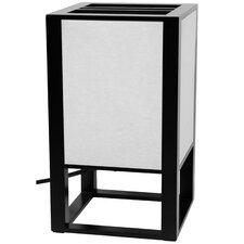 "Japanese Washitsu 11.5"" H Table Lamp with Rectangular Shade"