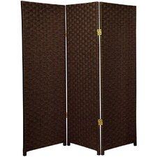 "48"" x 39"" 3 Panel Room Divider"