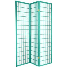 "70"" x 42"" Window Pane 3 Panel Room Divider"