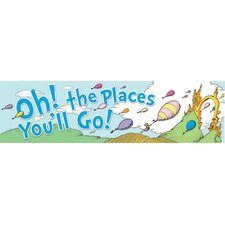 Dr Seuss Oh The Places Balloons Poster (Set of 2)