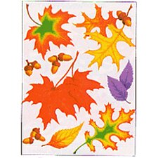 Fall Leaves Window Cling