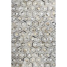 Tuscon Geometric Gray Area Rug
