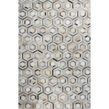 Tuscon Geometric Grey Area Rug