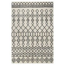 Ashland Ivory/Black Area Rug