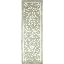 Greenwich Hand-Tufted Grey Area Rug