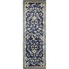 Greenwich Hand-Tufted Navy Area Rug