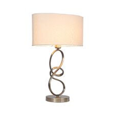 "Journey 22"" H Table Lamp with Drum Shade"