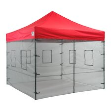 Pop Up Food Service Vendor Canopy Tent Sidewalls