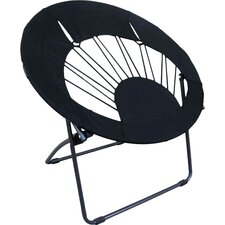 Bungee Chair Folding Dorm Lounge Chair