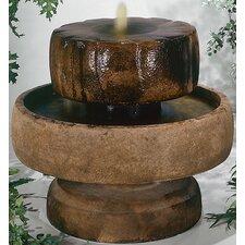 Centerpiece Cast Stone Little Millstone Cascade Fountain