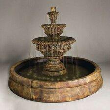 Cast Stone Valencia Spill Fountain