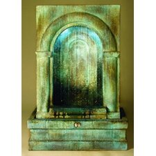 Wall Alcove Grotto Falling Diamonds Fountain
