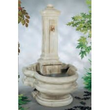 Wall Cast Stone Well Fountain
