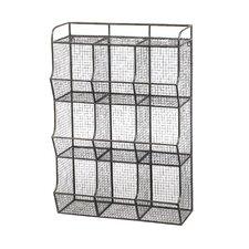 Wire Mesh 9 Bin Cubical Storage