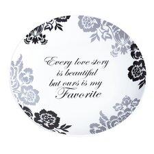 Elegant Every Love Story is Beautiful Platter