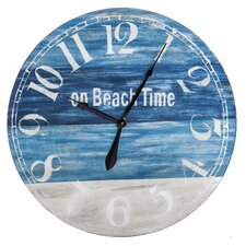 "20"" Wooden Wall Clock"