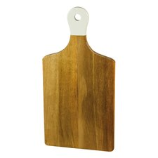 Tuscan Table Acacia Wood Cutting Board with Dipped Handle