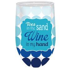 Wine in My Hand Stemless Wine Glass