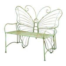 Verdi Butterfly Metal Park Bench