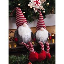 Plush Sitting Little Santa