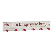 The Stockings Were Hung... Wooden Sign