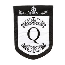 Regalia Monogram Garden Flag