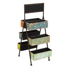 Double Sided Plant Ladder Display Unit