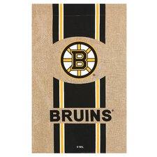 NHL Burlap Flag