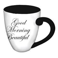 Elegant Good Morning Beautiful Coffee Cup
