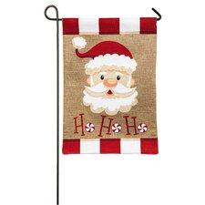 Santa Ho Ho Ho Garden Flag