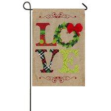 Noel and Love 2-Sided Garden Flag