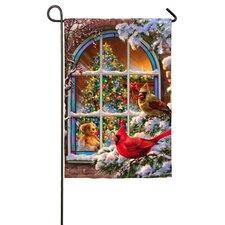 Christmas Window Garden Flag