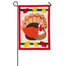 Holiday Turkey Garden Flag