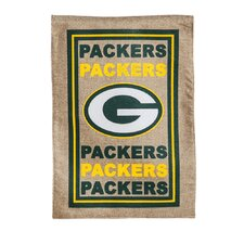 NFL Green Bay Packers Burlap Flag