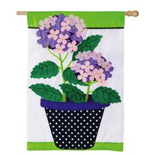 Hydrangea Beauty Garden Flag