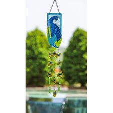 Peacock Suncatcher Decor